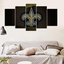 Load image into Gallery viewer, New Orleans Saints Steel Style Canvas