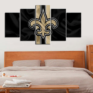 New Orleans Saints Flag Style Canvas
