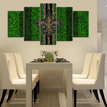 Load image into Gallery viewer, New Orleans Saints Grassy Look Canvas