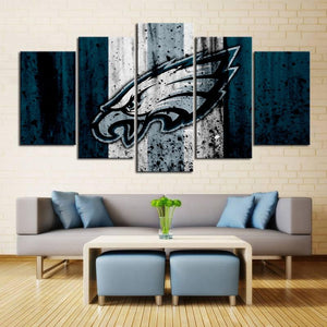 Philadelphia Eagles Rough Look Canvas