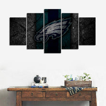 Load image into Gallery viewer, Philadelphia Eagles Rock Look Canvas