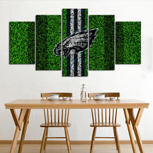 Load image into Gallery viewer, Philadelphia Eagles Grassy Look Canvas