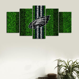 Philadelphia Eagles Grassy Look Canvas