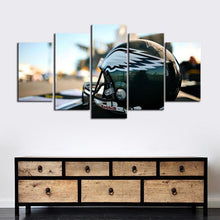 Load image into Gallery viewer, Philadelphia Eagles Helmet Style Canvas