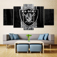 Load image into Gallery viewer, Las Vegas Raiders Rough Look Canvas