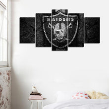 Load image into Gallery viewer, Las Vegas Raiders Rock Style Canvas