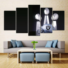 Load image into Gallery viewer, Las Vegas Raiders Three Won Canvas