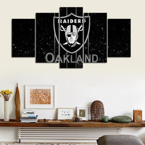 Las Vegas Raiders Dark Canvas