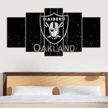 Load image into Gallery viewer, Las Vegas Raiders Dark Canvas