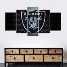 Load image into Gallery viewer, Las Vegas Raiders Steal Look Canvas
