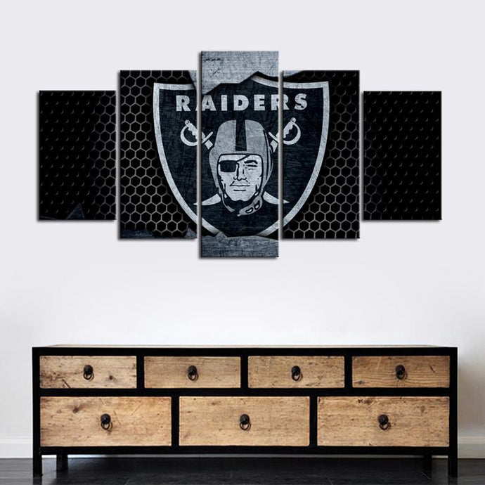 Oakland Raiders Steal Look Canvas