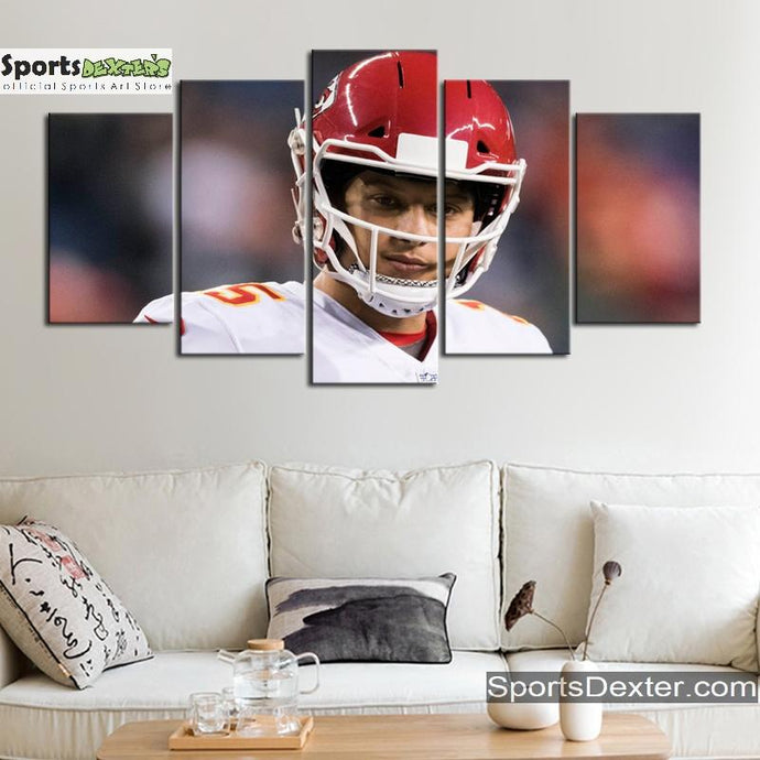 Patrick Mahomes Kansas City Chiefs Canvas
