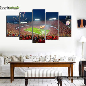 Kansas City Chiefs Stadium Canvas