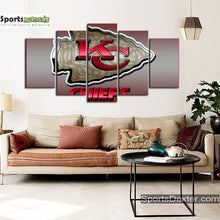 Load image into Gallery viewer, Kansas City Chiefs Matrix Style Canvas