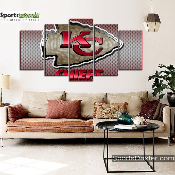 Kansas City Chiefs Matrix Style Canvas