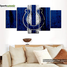 Load image into Gallery viewer, Indianapolis Colts Rough Style Canvas