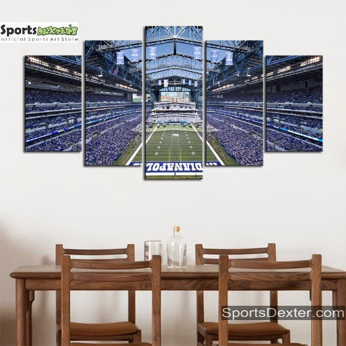 Indianapolis Colts Stadium Canvas