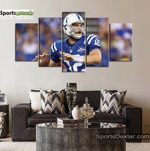 Load image into Gallery viewer, Andrew Luck Indianapolis Colts Canvas