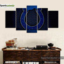 Load image into Gallery viewer, Indianapolis Colts Steel Style Canvas