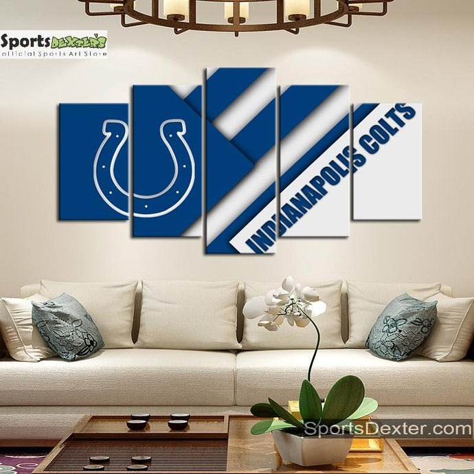 Indianapolis Colts Cut Style Canvas