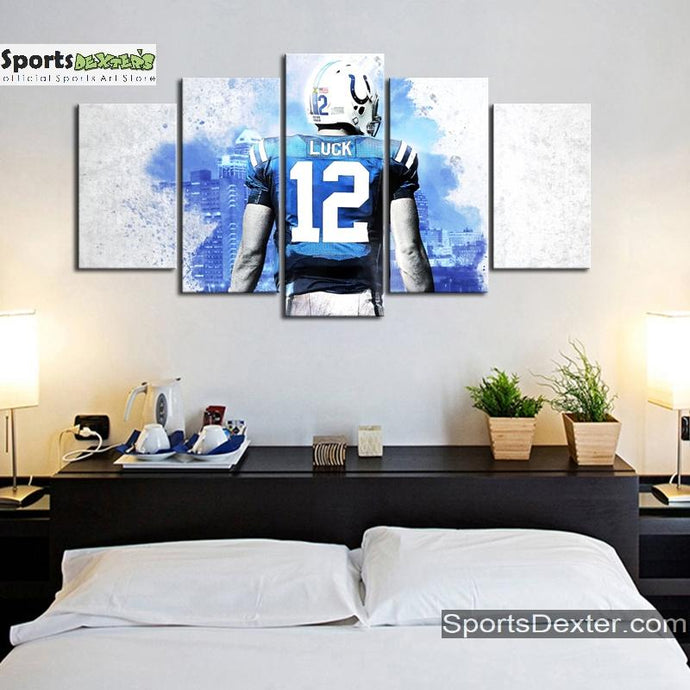 Andrew Luck Indianapolis Colts Canvas