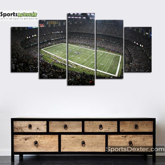 New Orleans Saints Stadium Canvas