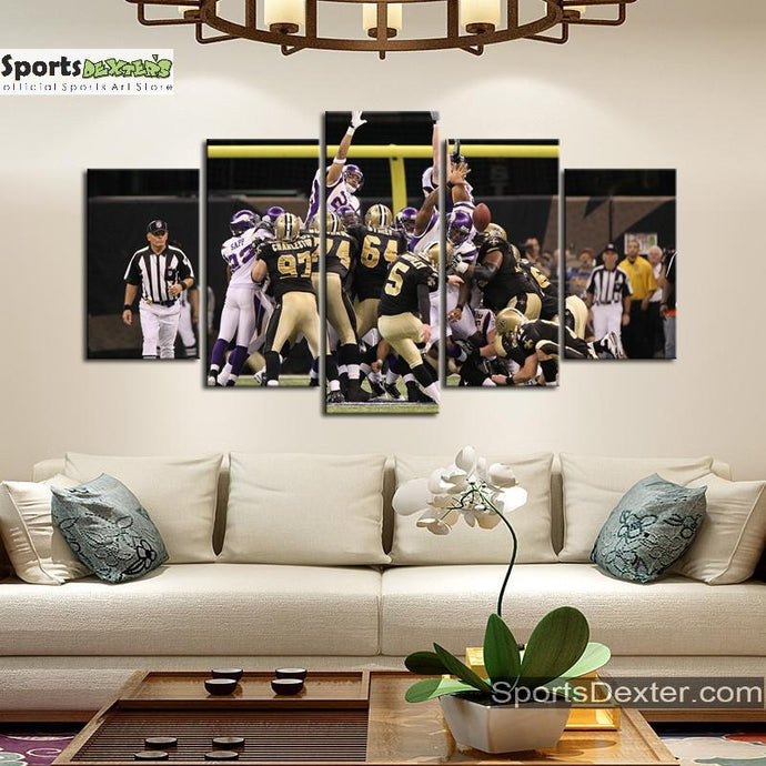 New Orleans Saints Game Canvas