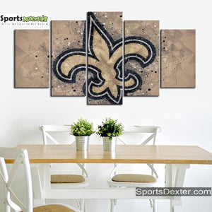 New Orleans Saints Art Canvas