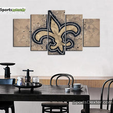 Load image into Gallery viewer, New Orleans Saints Art Canvas