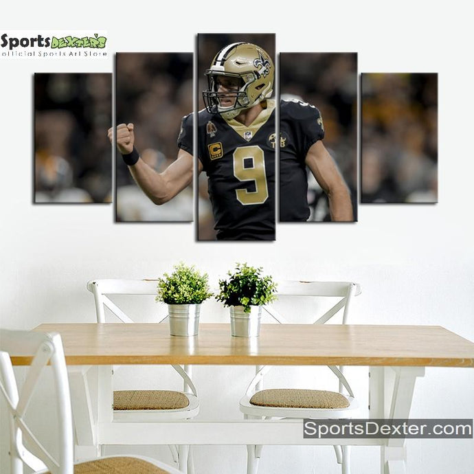 Drew Brees New Orleans Saints Canvas