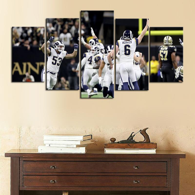 Los Angeles Rams Team Canvas