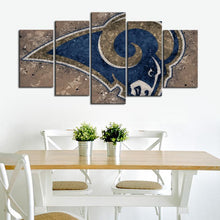 Load image into Gallery viewer, Los Angeles Rams Artistic Canvas