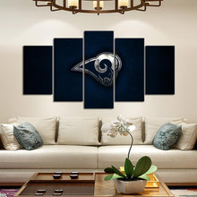 Load image into Gallery viewer, Los Angeles Rams Sleek Canvas