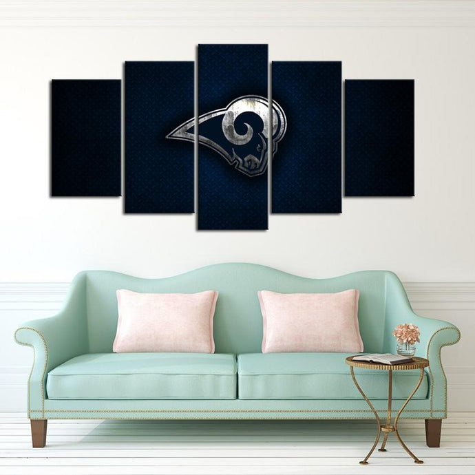 Los Angeles Rams Sleek Canvas