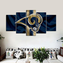 Load image into Gallery viewer, Los Angeles Rams Flag Look Canvas