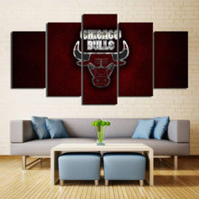Load image into Gallery viewer, Chicago Bulls Steel Style Canvas