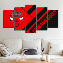 Load image into Gallery viewer, Chicago Bulls Wall Art Canvas