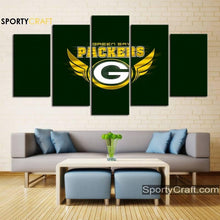 Load image into Gallery viewer, Green Bay Packers Art Canvas