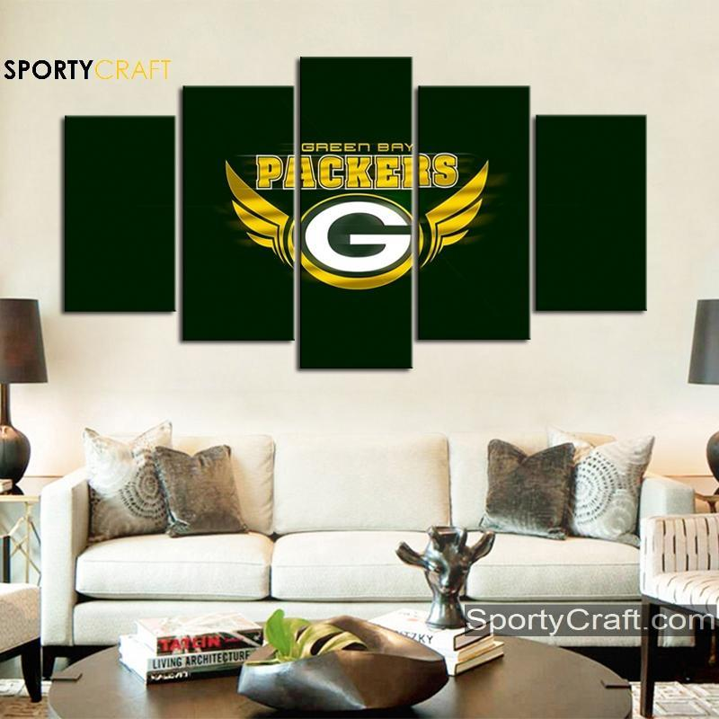 Green Bay Packers Art Canvas