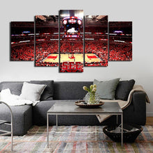 Load image into Gallery viewer, Chicago Bulls Stadium Style Canvas