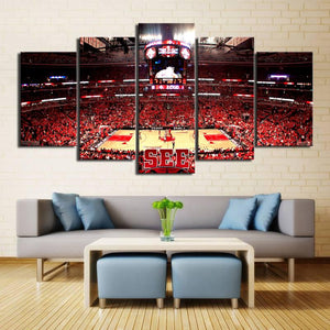 Chicago Bulls Stadium Style Canvas