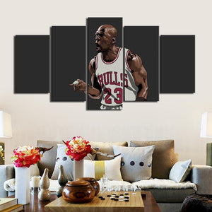 Michael Jordan Chicago Bulls Canvas