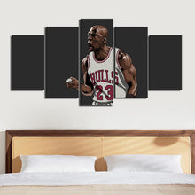 Load image into Gallery viewer, Michael Jordan Chicago Bulls Canvas