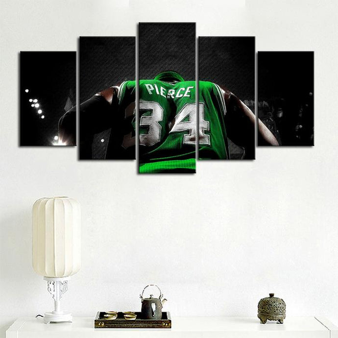 Paul Pierce Boston Celtics Canvas