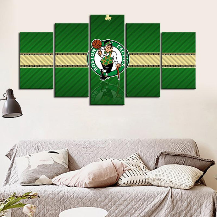 Road to Boston Celtics Canvas