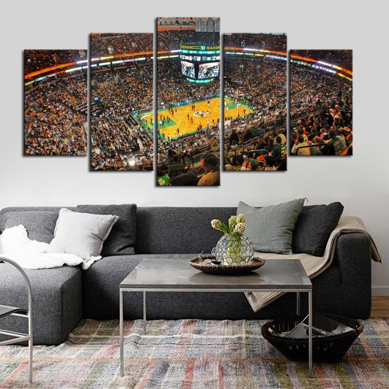 Boston Celtics Stadium Look Canvas