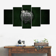 Load image into Gallery viewer, Boston Celtics Metal Style Canvas