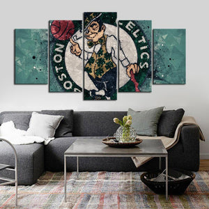 Boston Celtics Tech Look Canvas