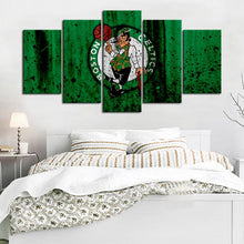 Load image into Gallery viewer, Boston Celtics Rough Look Canvas