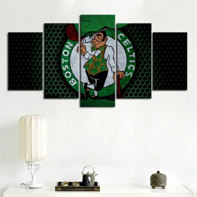 Boston Celtics Steal Style Canvas